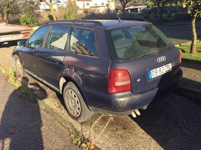 Bens Penhorados Finanças Audi A4 TDI em Leilão 1