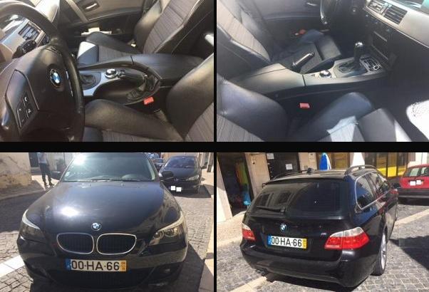BMW Série 5 penhorado finanças em leilão 1