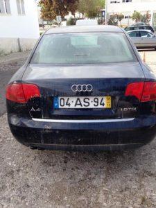 Carro penhorado Audi A4 TDI de 2005 Licite por 3600 euros 2