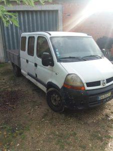 Penhorado Finanças Renault Master 2500 euros 5
