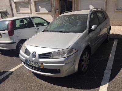 Penhora finanças Renault Megane 2100 euros 1