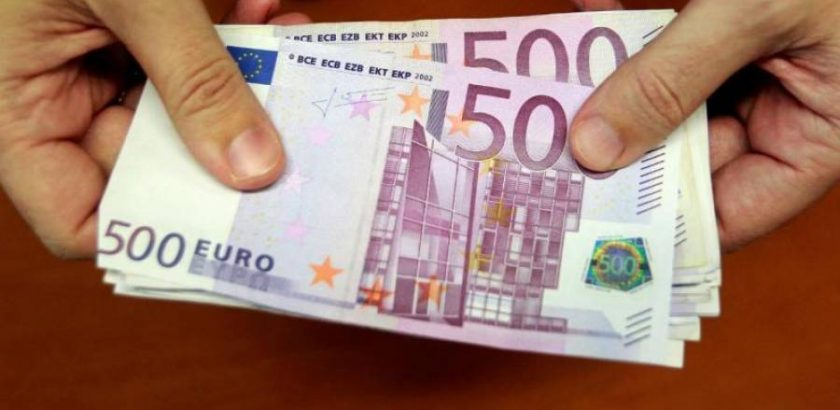 Notas de 500 euros começam a sair de circulação este mês de Janeiro 24