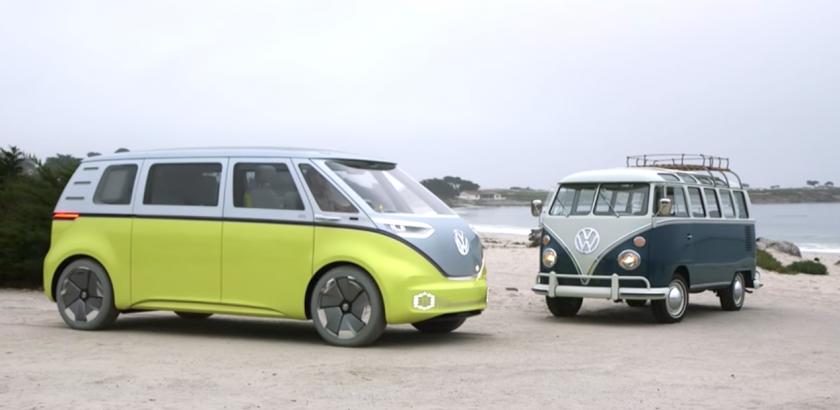 VW Kombi Pão de forma está de volta e totalmente eléctrica 1