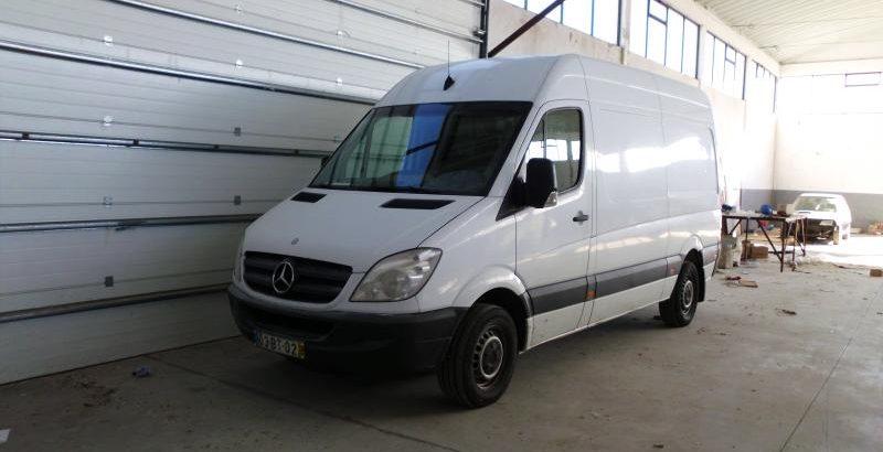 Penhora Finanças Mercedes Sprinter CDI 21