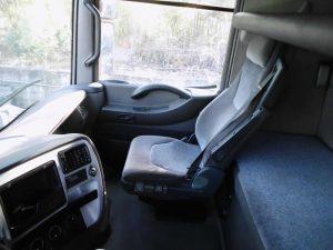 interior camião penhorado