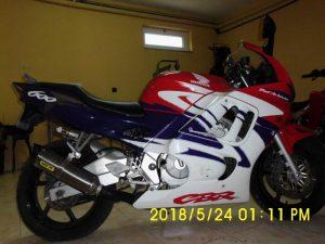 Mota Penhorada Honda CBR por 525 euros 3