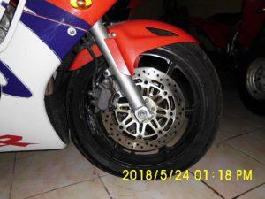Mota Penhorada Honda CBR por 525 euros 2