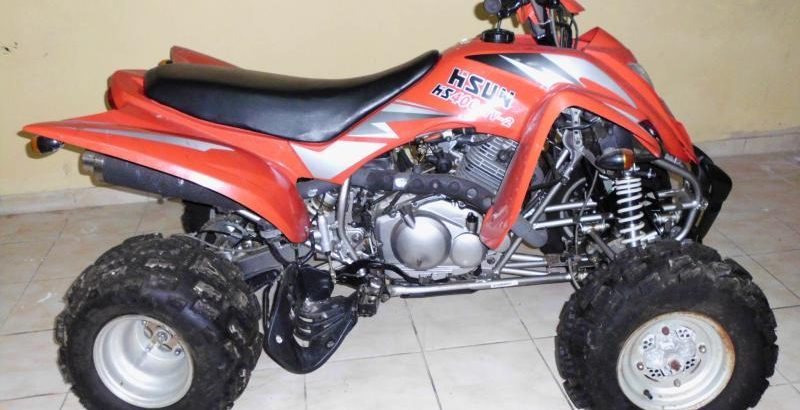 moto 4 penhorada