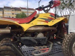Moto 4 Penhorada por 525 euros 3