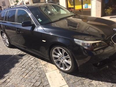 BMW 520 em Leilão