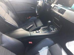 interior bmw 520