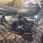 motociclo em leilão