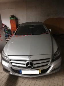 Mercedes w218 CLS Penhorado