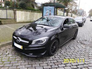 Penhora das finanças Mercedes CLA