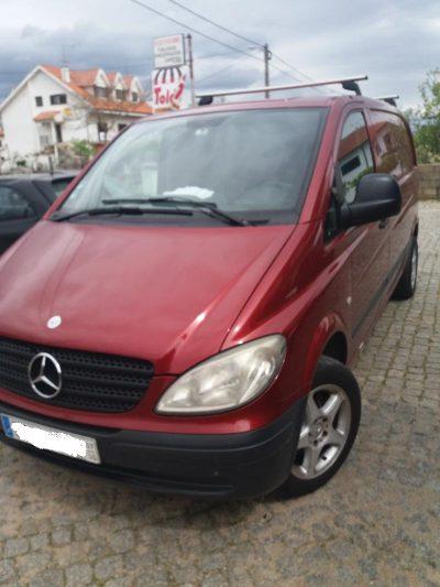 Mercedes 120 CDI penhorado