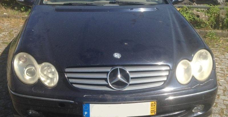 Leilão de Mercedes CLK